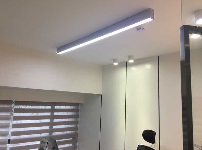 LED Ceiling Mounted Linear Light