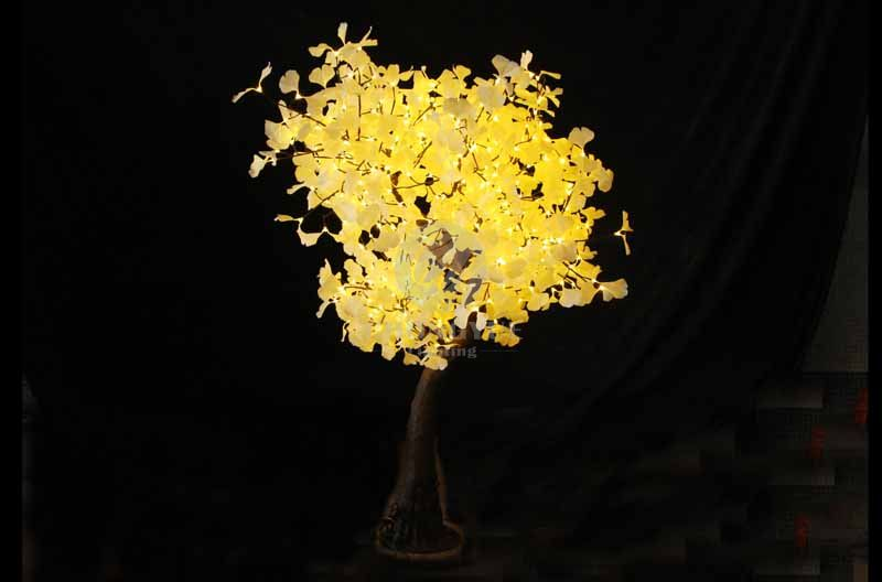 LED Artificial Ginkgo Tree