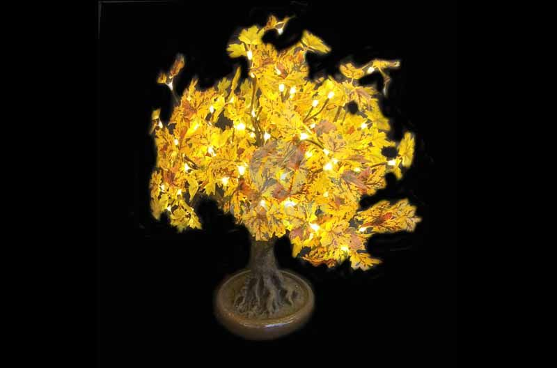 LED Artificial Maple Tree