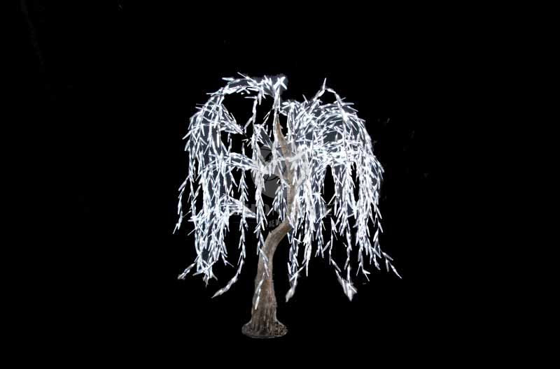 LED Artificial Willow Tree